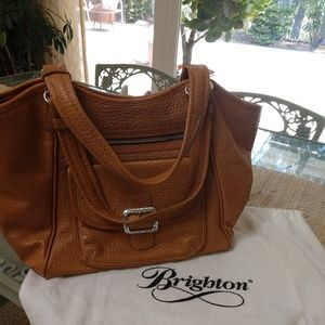 Brighton Pebbled Leather Handbag